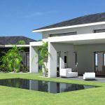 Toit En Beton Maison Contemporaine à toit Ardoises Et Grande Terrasse