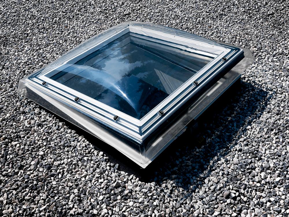 Objets BIM et CAO Fenetre coupole motorisee pour toit
