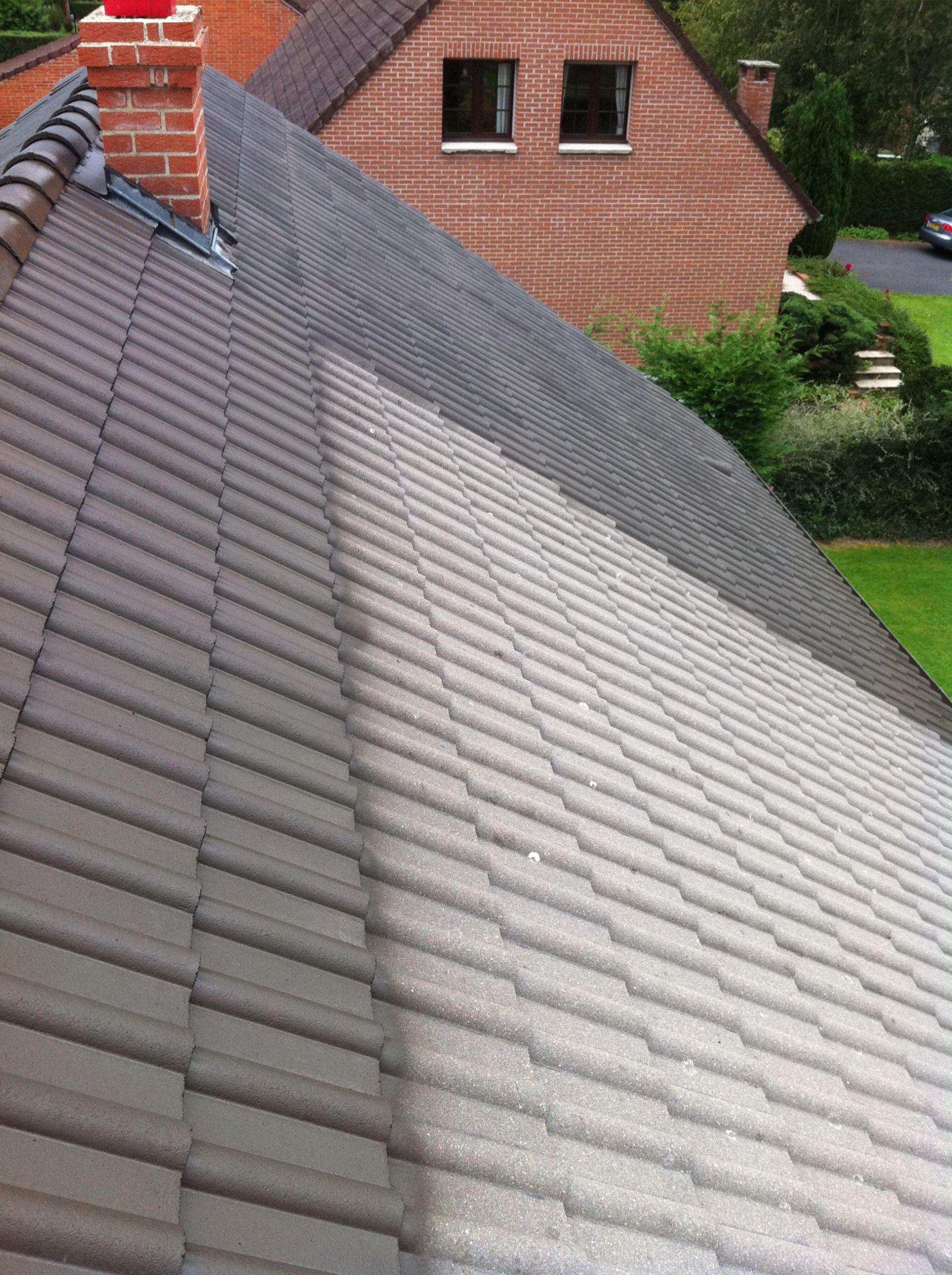 Rénovation toiture tuile béton terre cuite Maubeuge Avesnois