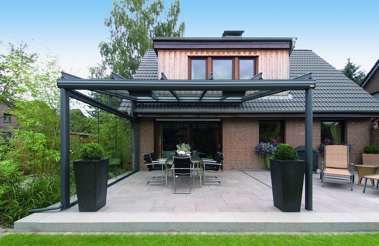 Toit En Verre Faites Un toit En Verre Pour Votre Terrasse Moderne