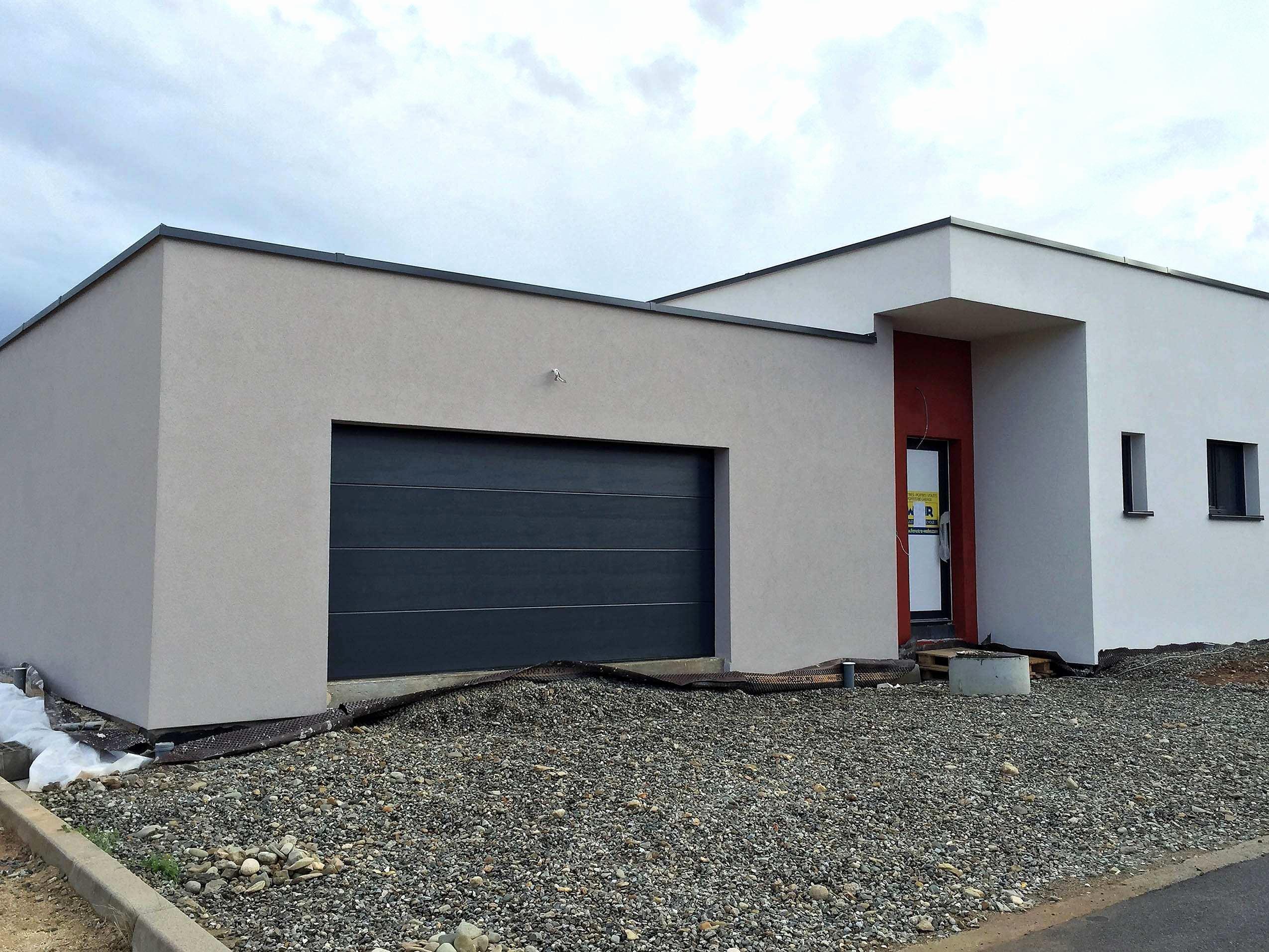 Garage Toit Plat Beton Lgant Amenagement Terrasse Toit