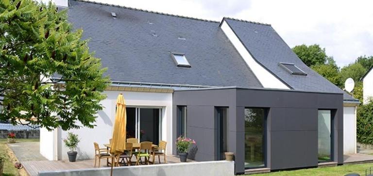 Quelle hauteur pour une extension de maison à toit plat