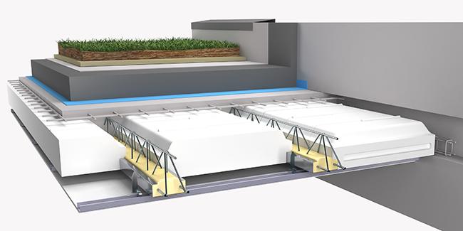 Toit terrasse beton