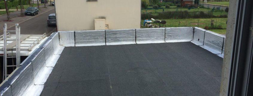 Toit terrasse beton veranda styledevie