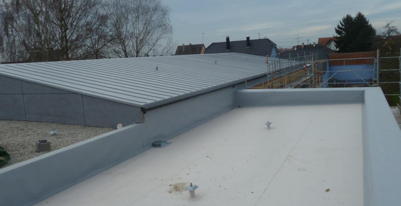 Adam toitures Étanchéité toit terrasse plat