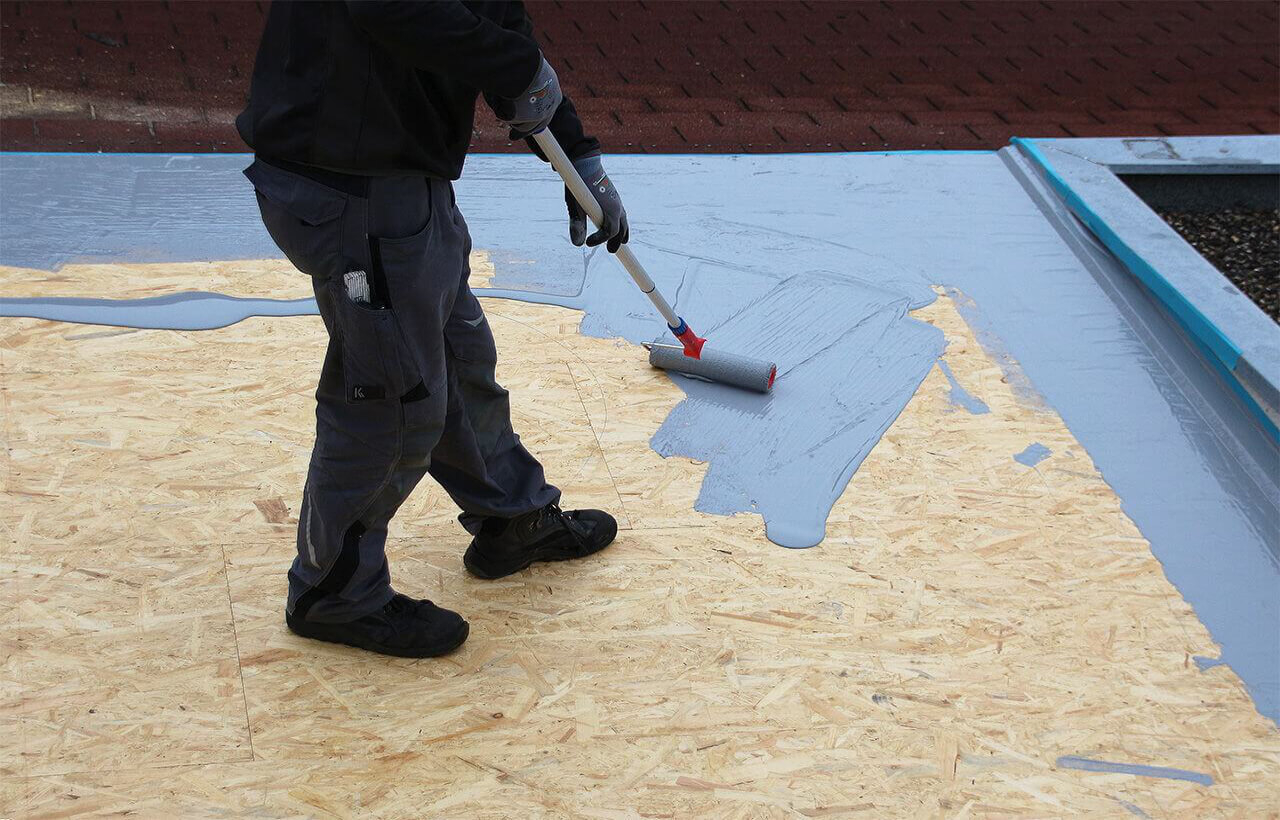 Etanchéité toit plat mono posant Membrane polymère