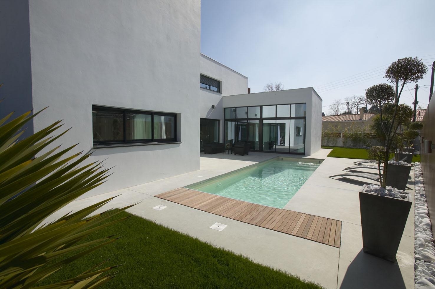 Maison Contemporaine Toit Terrasse toit plat maison maison design contemporain mc immo - idees
