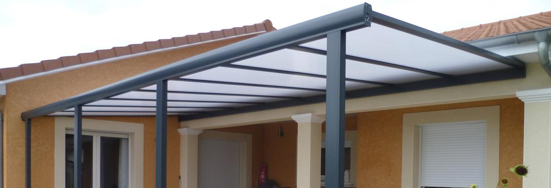 Pergola aluminium avec toit polycarbonate protégez votre