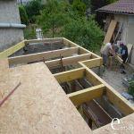 Toit Terrasse Bac Acier Chantier Auto Construction toit Terrasse toiture