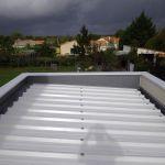 Toit Terrasse Bac Acier La Couvertine Alu & Acrotère étanchéité toit Terrasse