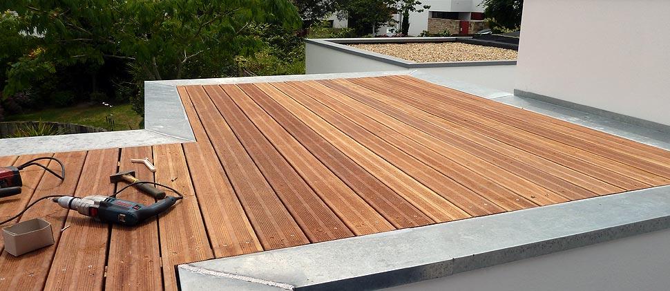 Travaux d étanchéité sur toiture terrassse toit plat