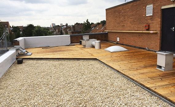 Terrasse accessible Roussel couvreur à Lille toitures