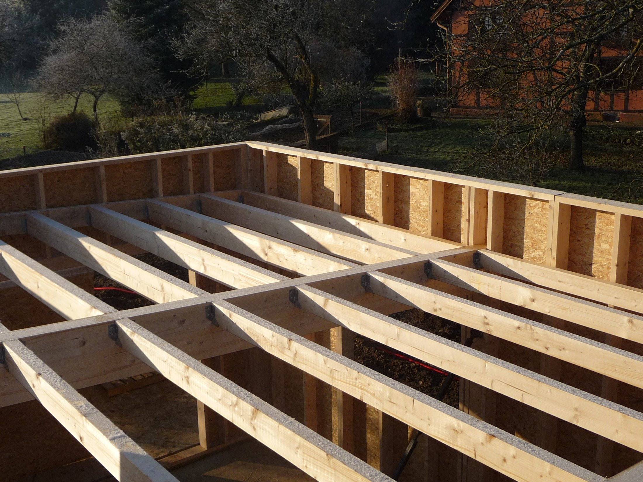 Maison Ossature Bois Et Passion Toiture Terrasse