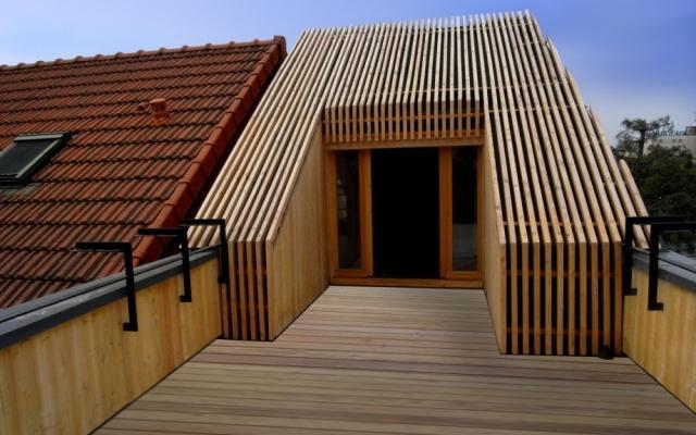 Toit Terrasse Bois Ment Faire Une Extension Bois D'un toit Terrasse