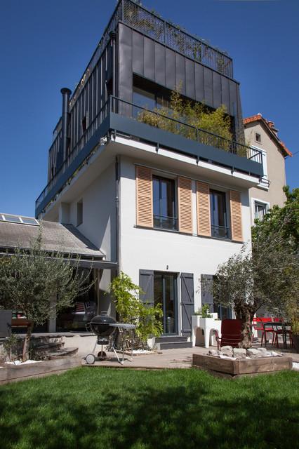Toit Terrasse Maison Direction issy Les Moulineaux Pour Une Surelevation De