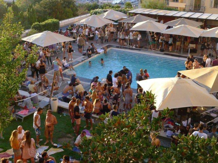 [En images] Deep Blu Pool Party à l hôtel Radisson à Marseille