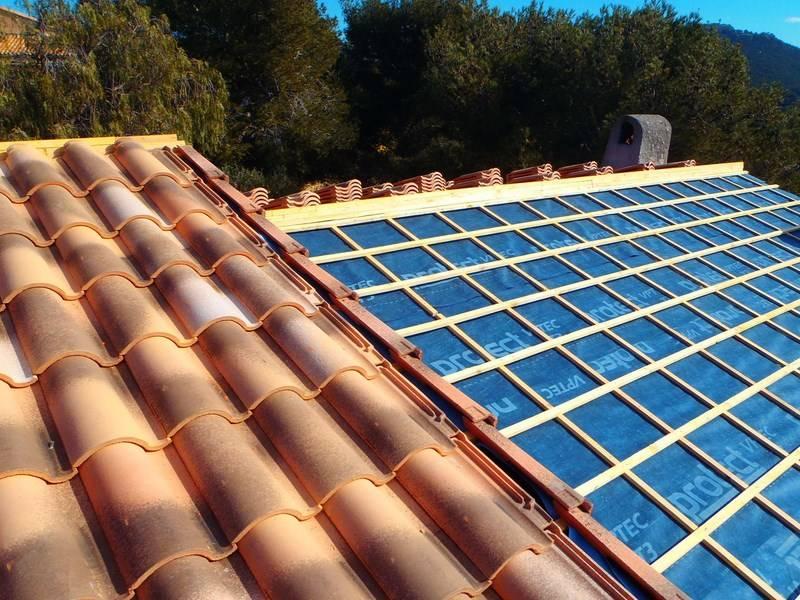 entreprise couverture de toit terrasse marseille Pose et