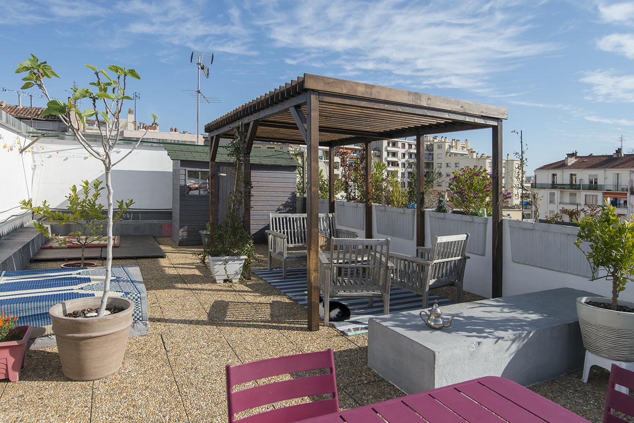 Marseille Eugène Pierre Appartement contemporain avec