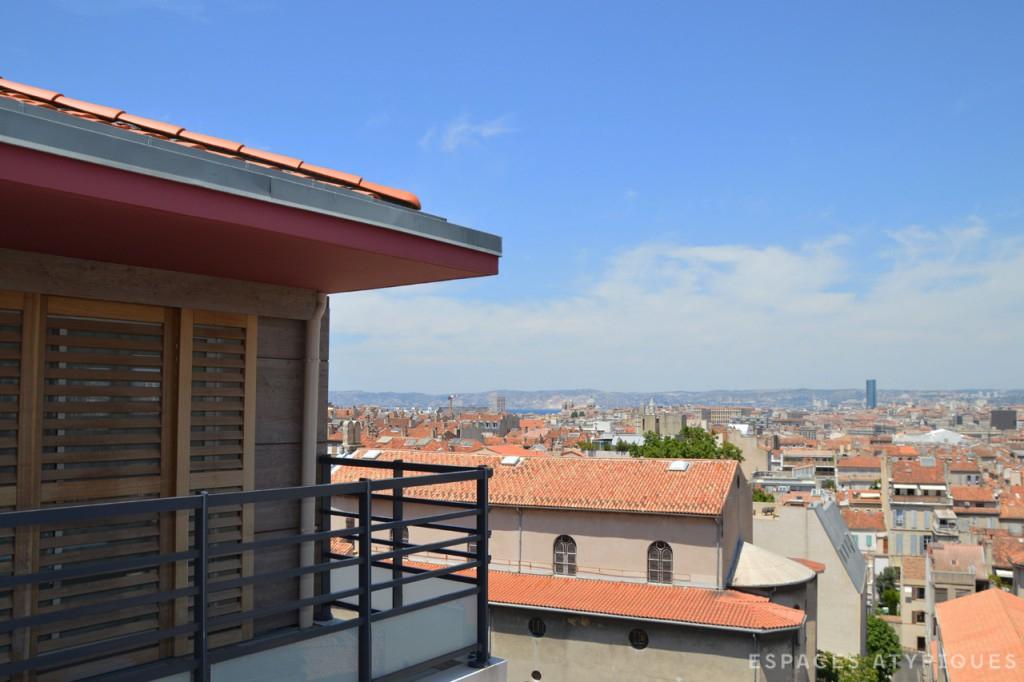 Marseille Vauban Toit terrasse avec vue exceptionnelle