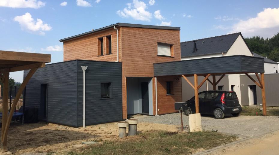 Maison bois 1 2 Vue – architecte Lise ROTURIER
