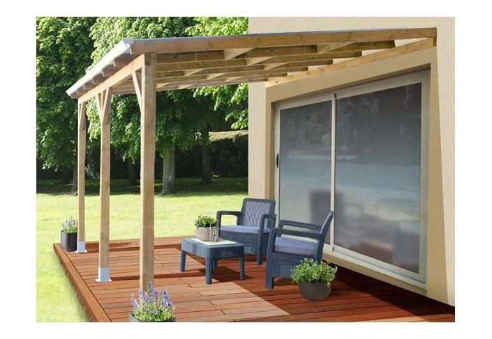 Toiture En Bois toit Terrasse Bois Discount Couverture Polycarbonate