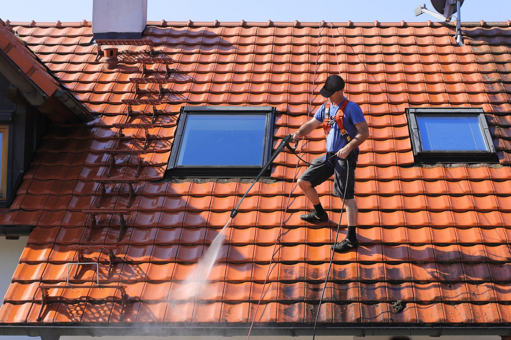 Entretien et nettoyage d une toiture prix moyen devis