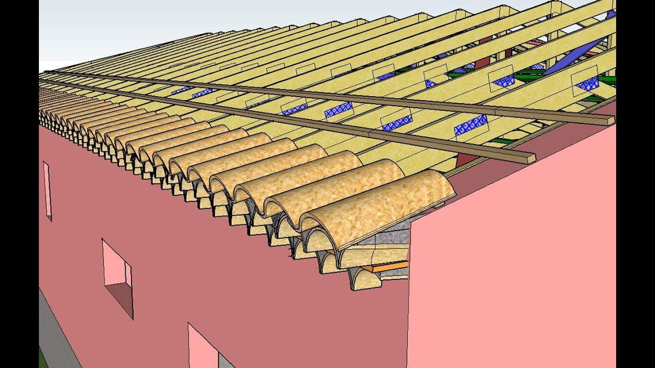 Modélisation trois dimensions toiture couverture