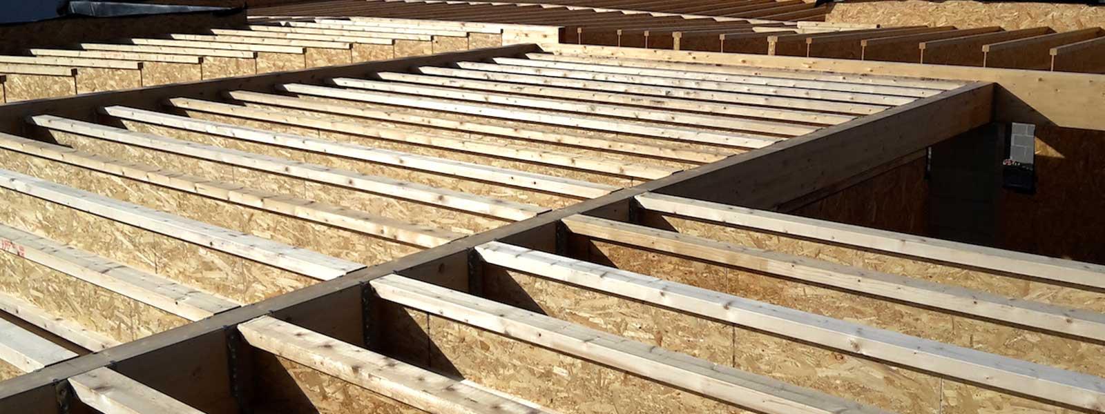 Maison en bois ossature bois charpente couverture à
