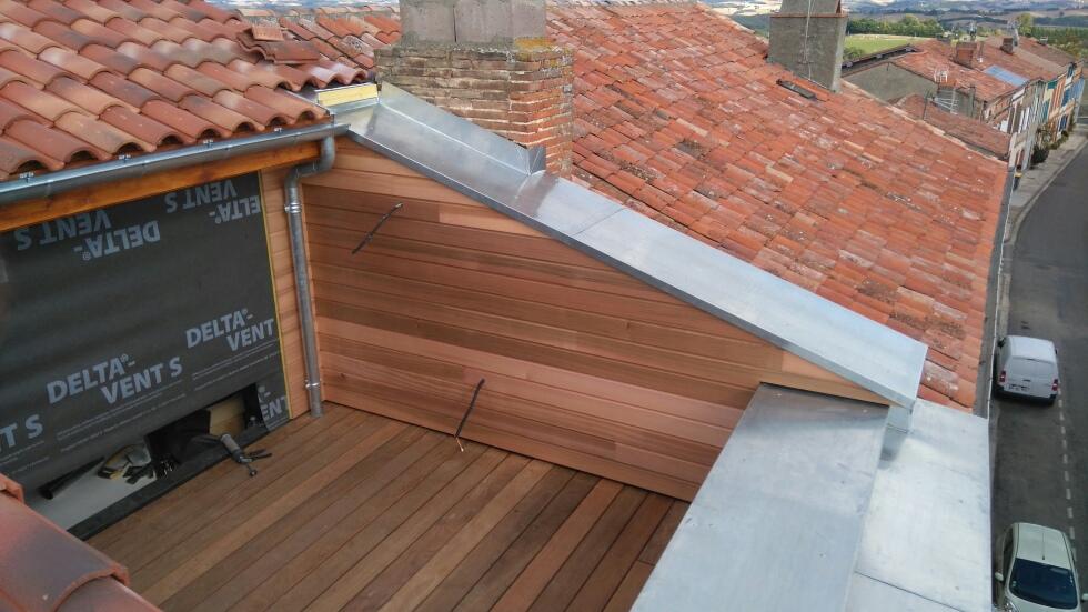 Création d une Terrasse sur Toit à Toulouse Couvreurs