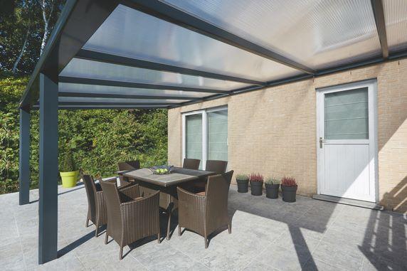 Pergola à toiture fixe en aluminium Verandair