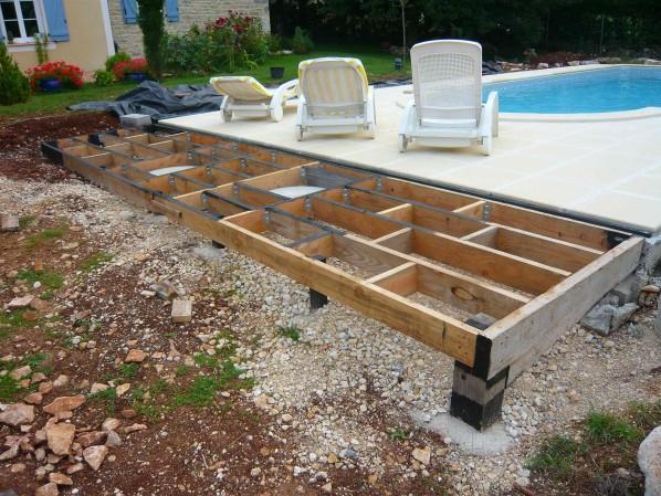 Terrasse en bois et tour de piscine bois Toulouse