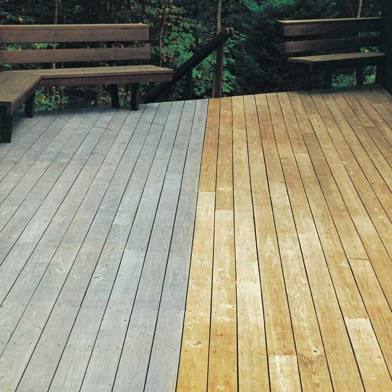Produits Traitement des terrasses en bois