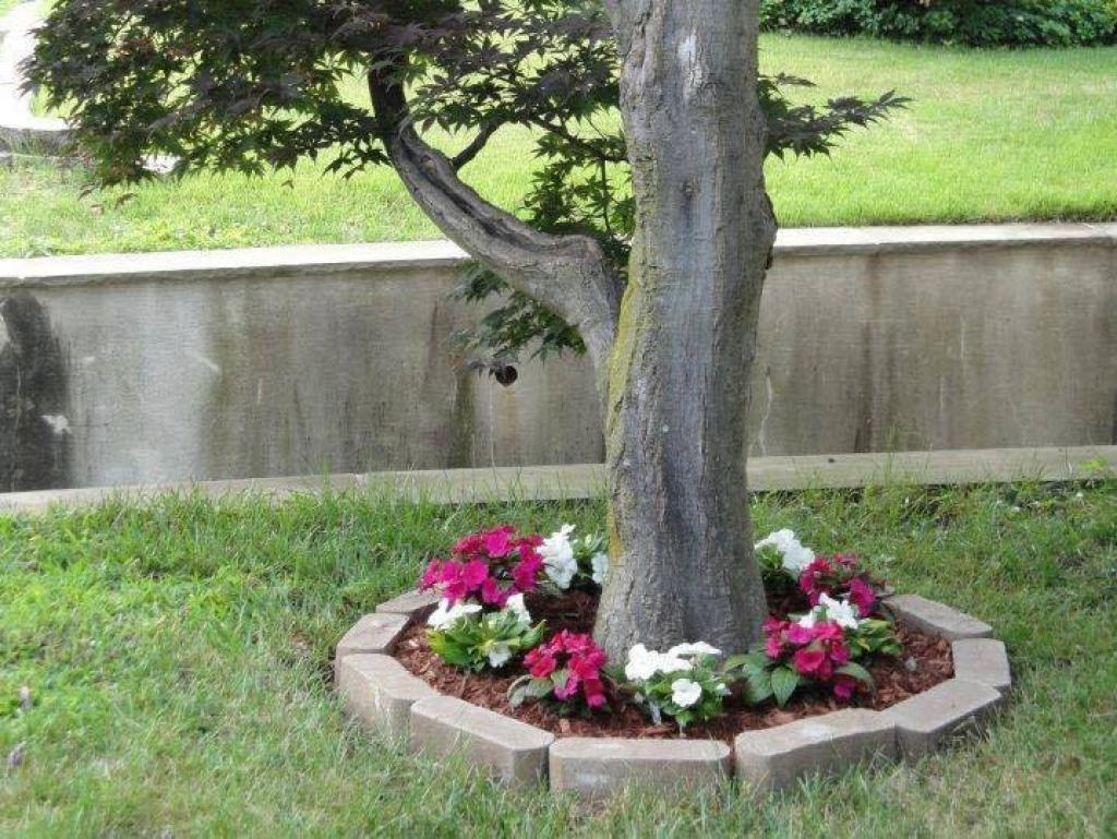 15 Décorations À Réaliser Tout Autour De Votre Arbre De Jardin à Grosse Pierre Decoration Jardin