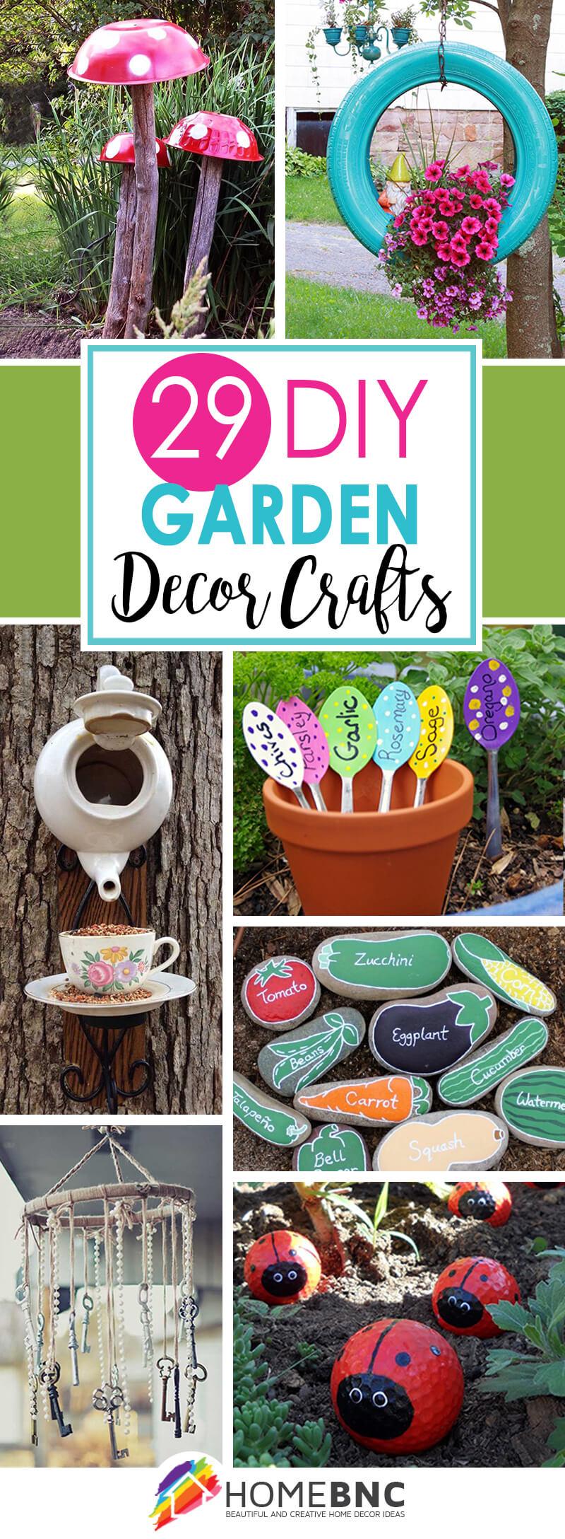 29 Artisanat De Jardin De Bricolage Mignon Que Vous Pouvez ... serapportantà Decoration De Jardin A Faire Soi Meme