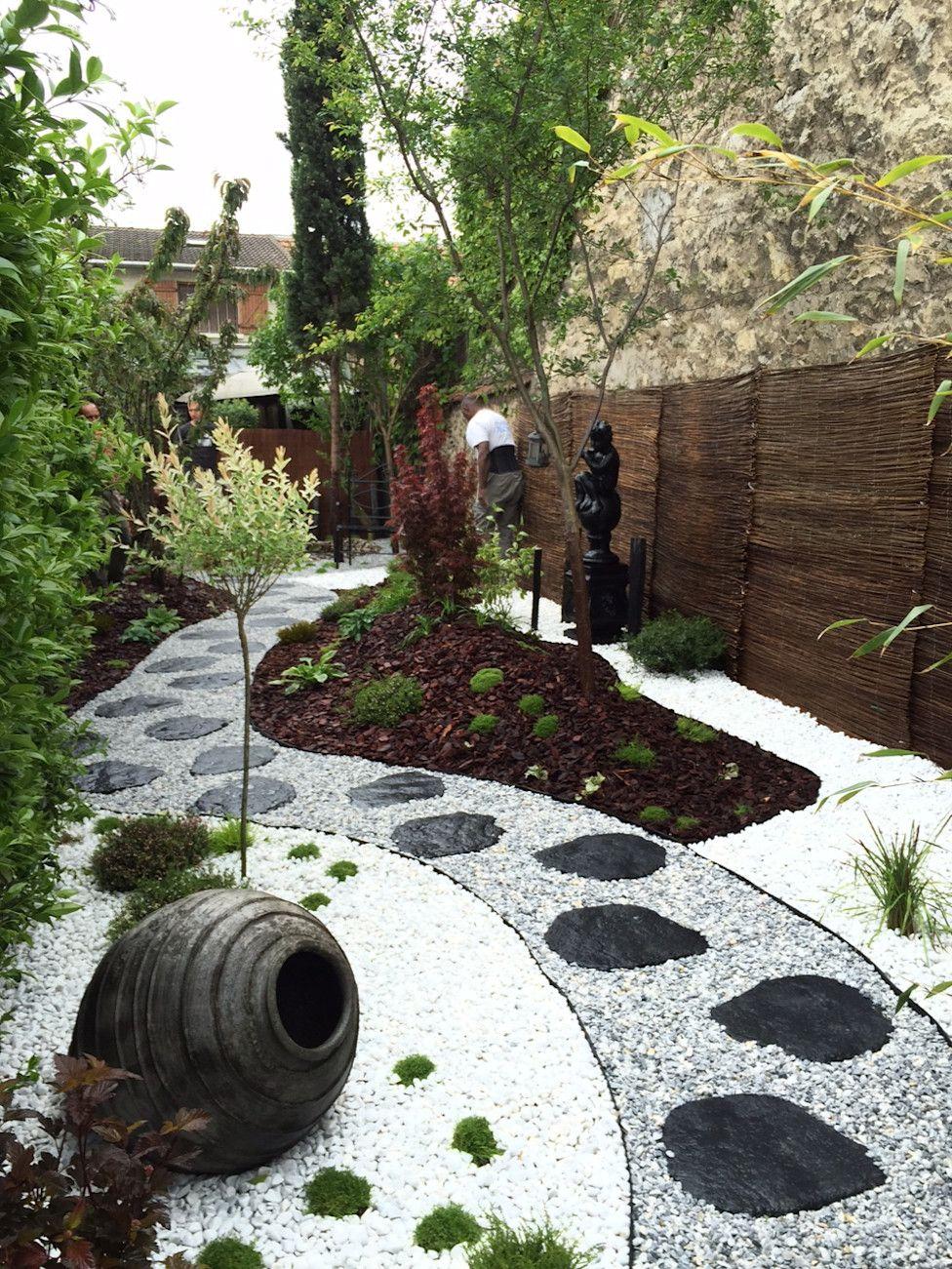 6 Jardins À Couper Le Souffle ! | Gravier Décoratif | Jardin ... destiné Déco De Jardin Zen