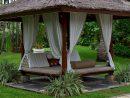 75 Cozy Backyard Gazebo Design Ideas | Meuble Jardin ... encequiconcerne Salon De Jardin En Pierre