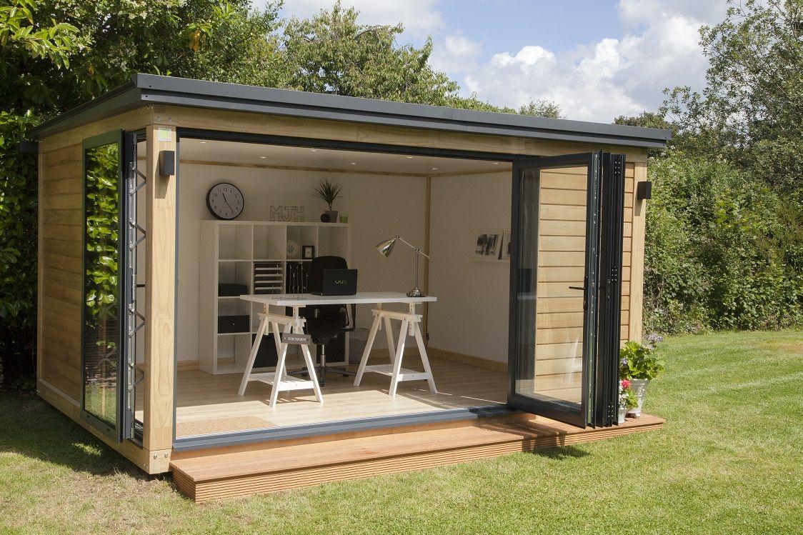 A Beautiful Garden Office In Surrey ... | Bureau De Jardin ... tout Cabane De Jardin Castorama