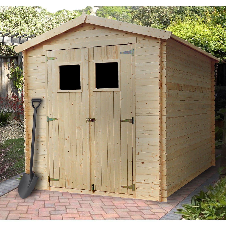 Abri De Jardin Bois 5,00 M2. dedans Petit Abris De Jardin