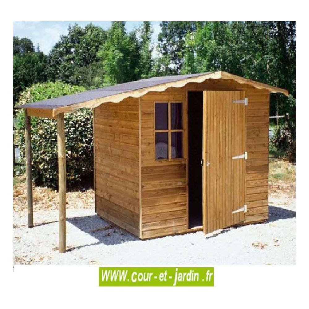 Abri De Jardin Europe 4M² - Abris Et Rangements- Cour Et Jardin intérieur Abri Jardin 4M2