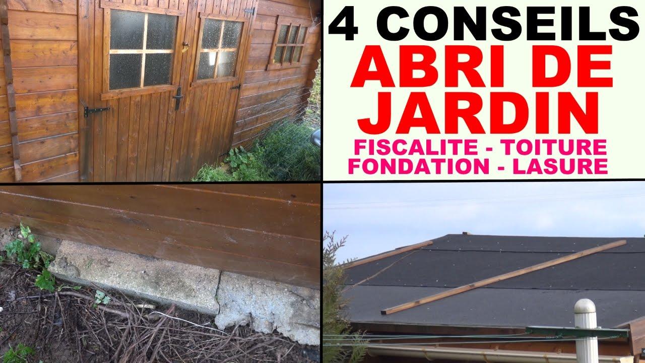 Abri De Jardin Fondation Toiture Fiscalit Protection Lasure ... serapportantà Fondation Abri De Jardin