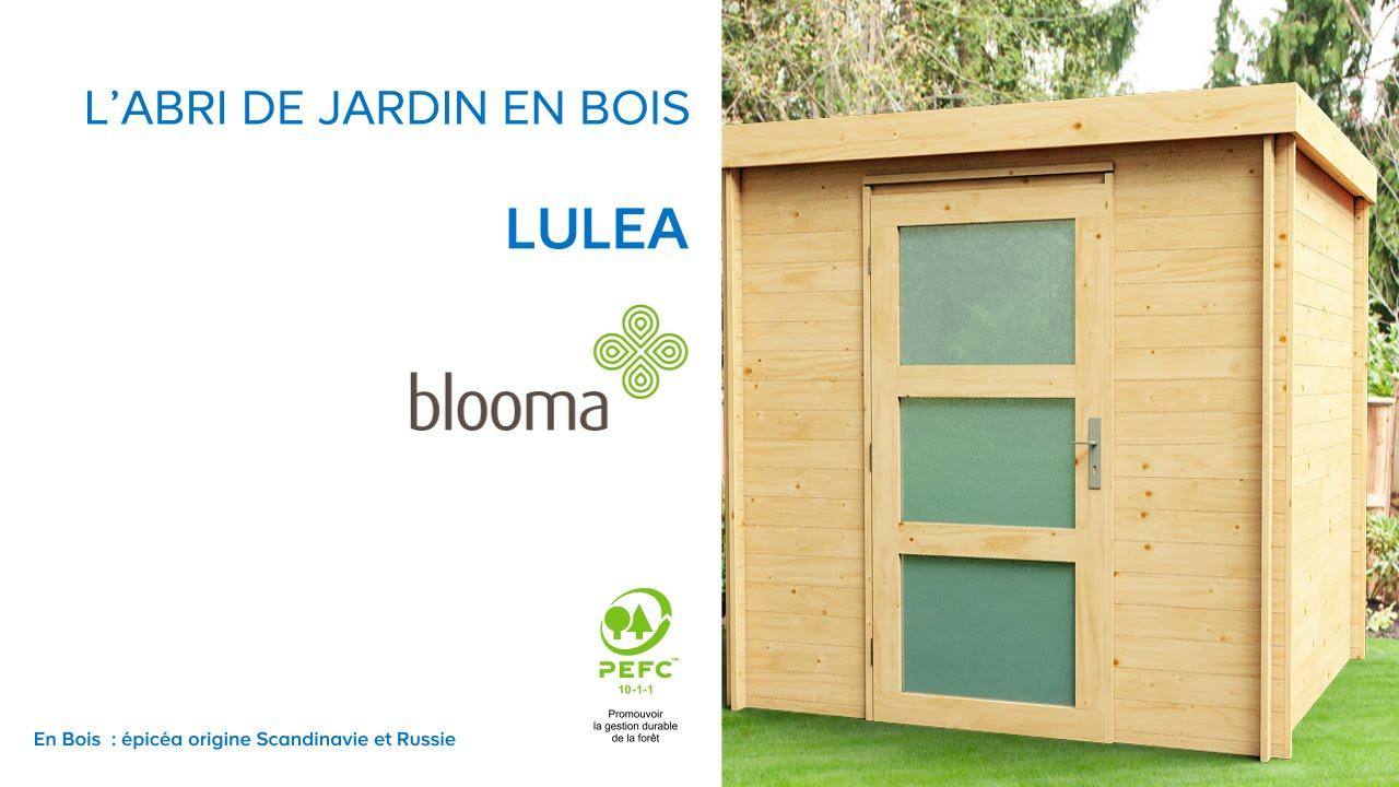 Abri De Jardin Toit Plat Luléa Blooma (676174) Castorama pour Cabane De Jardin Castorama