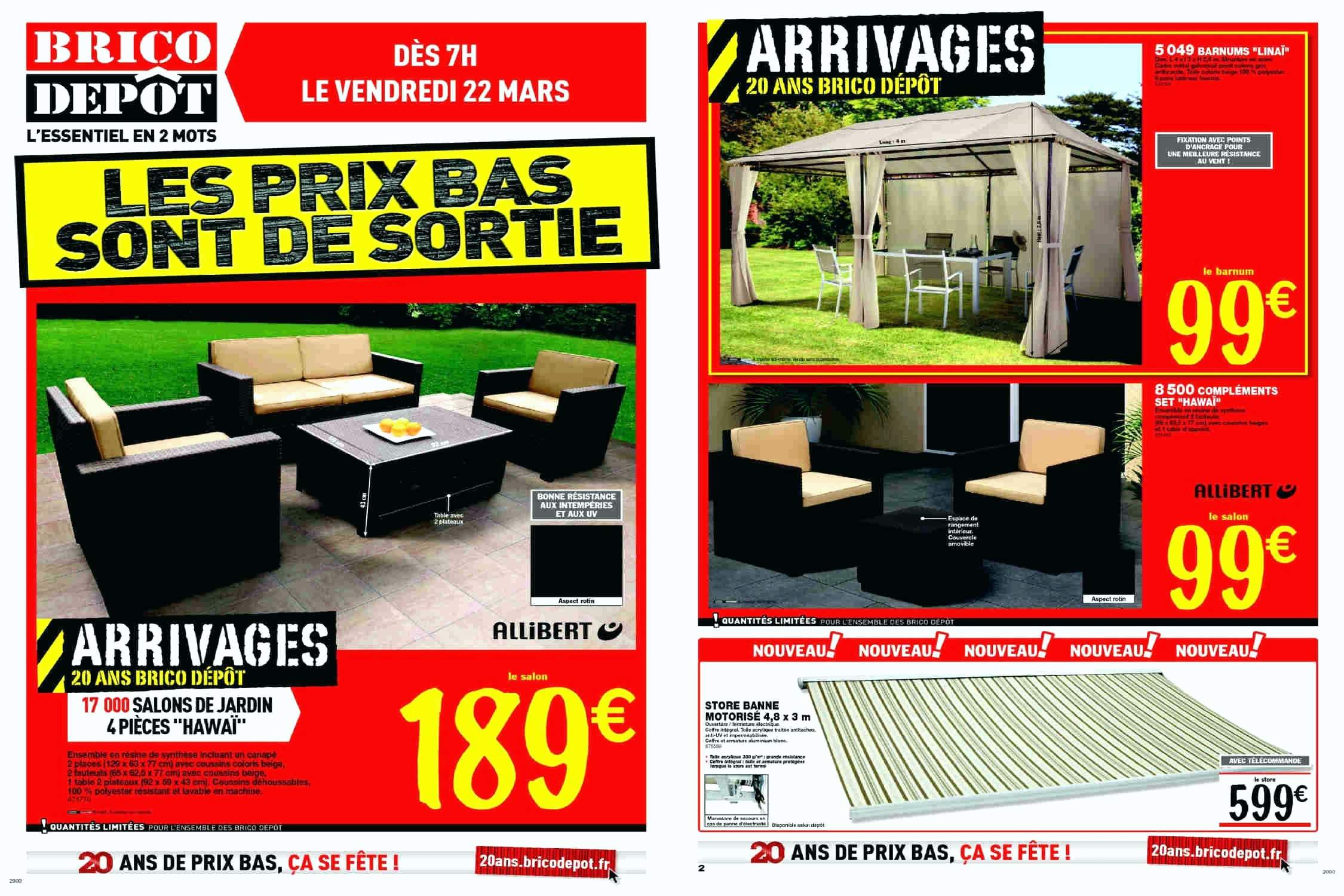 Achat Table De Jardin Best Of Jardin Brico Abris Depot ... intérieur Salon De Jardin Allibert Brico Depot