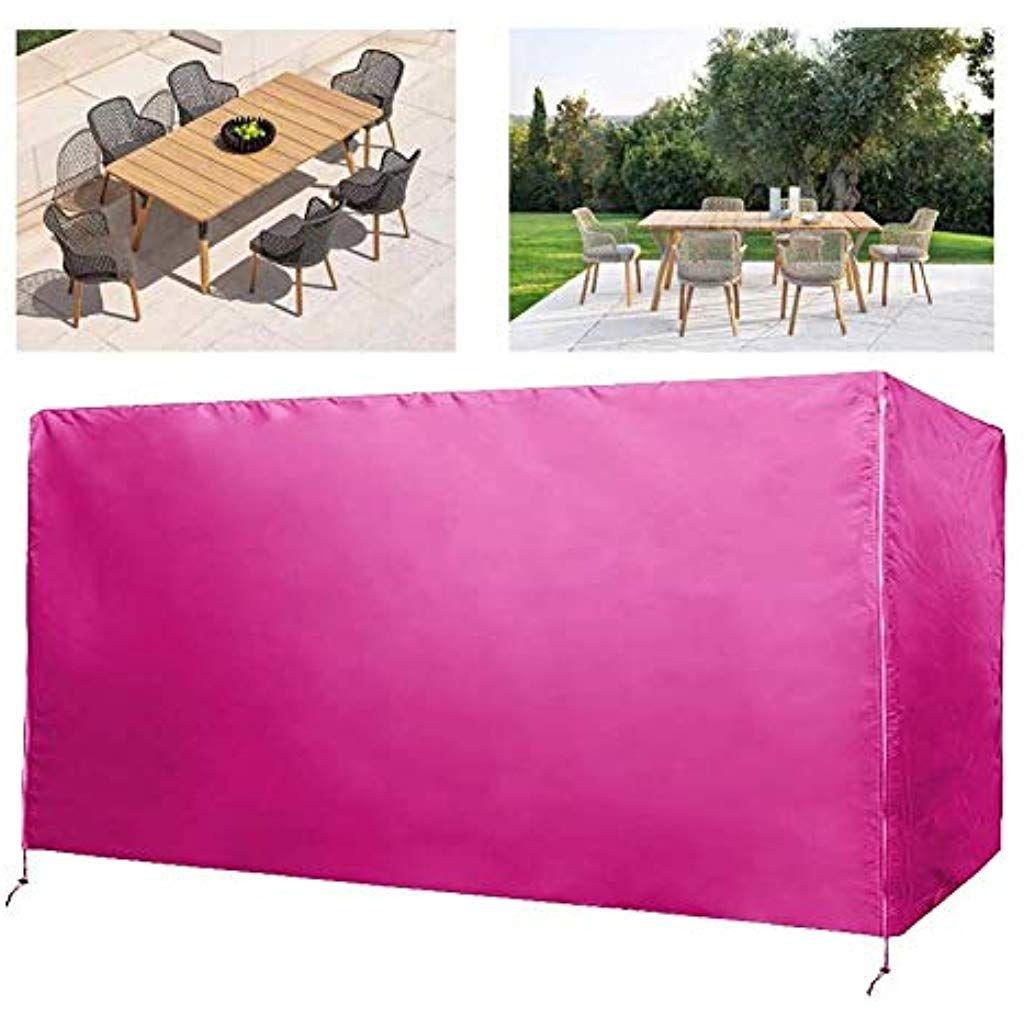 Aglzwy Housse Table De Jardin Bâche De Plein Air Cube Ombre ... concernant Bache Table Jardin