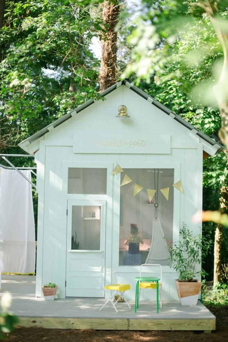 Aire De Jeux Extérieur : 30 Idées De Maison Enfant De Jardin pour Maison De Jardin Pour Enfants