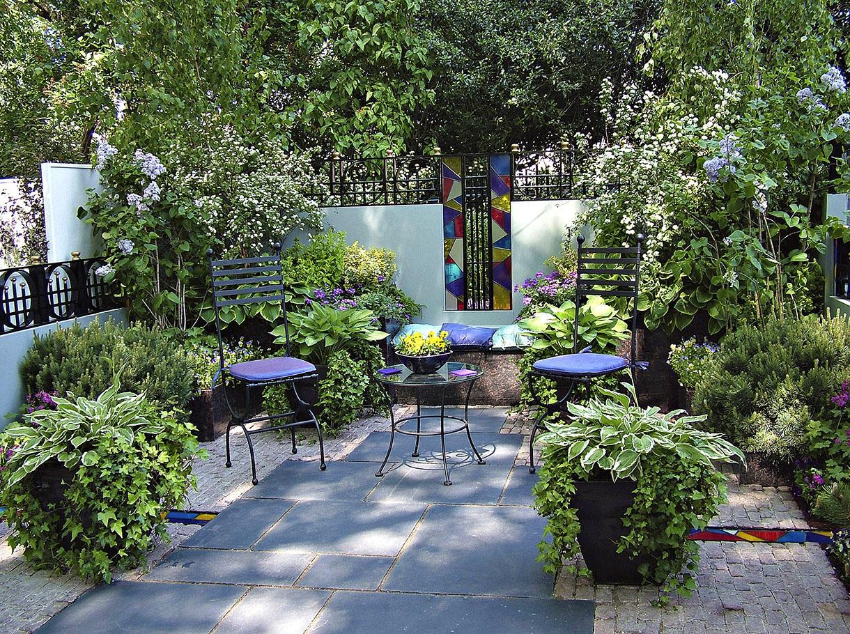 Amenagement Petit Jardin, Aménager Un Petit Jardin | Détente ... intérieur Exemple D Aménagement De Jardin