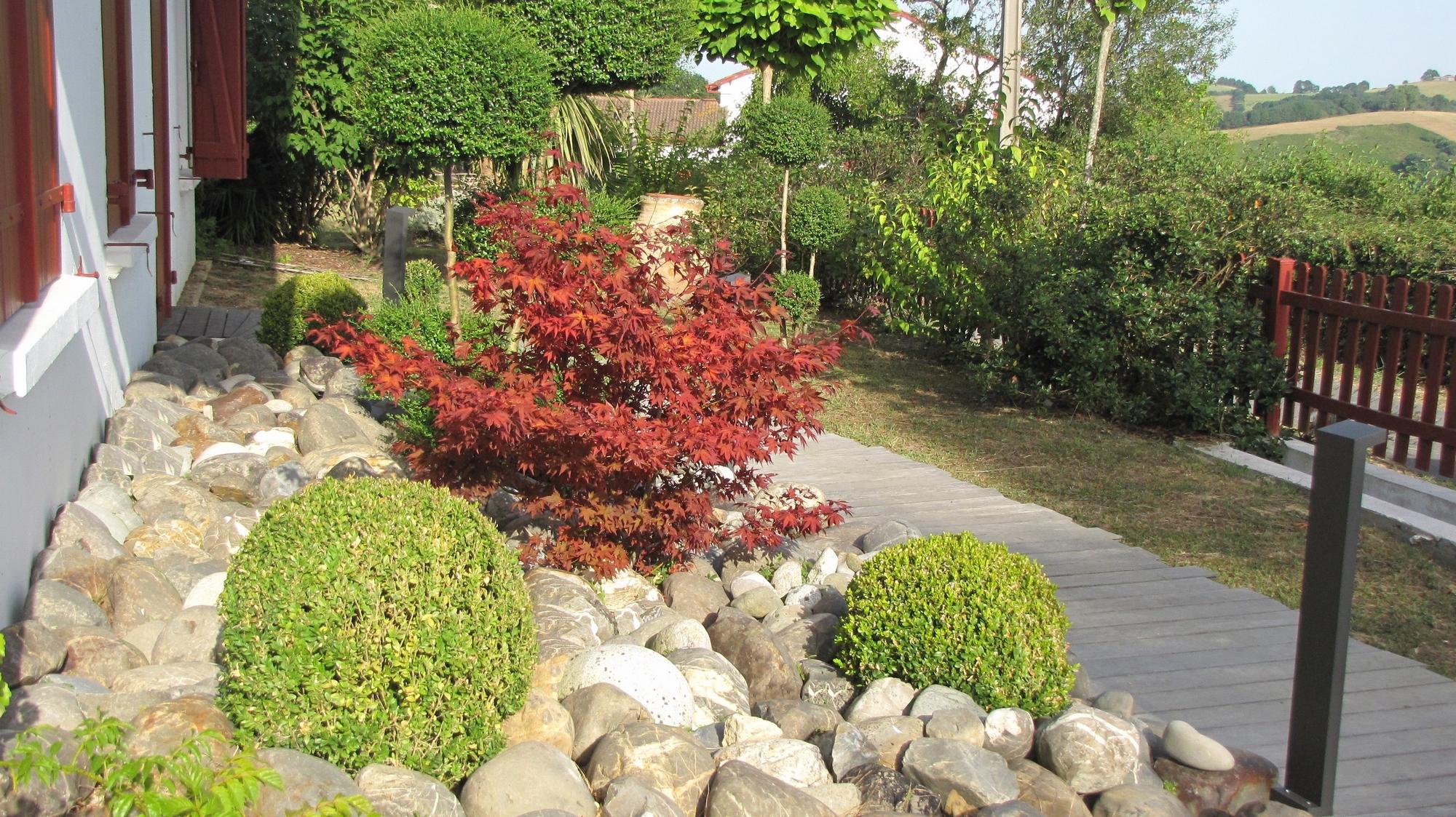 Aménager Un Jardin De Galets à Jardin Avec Galets Blancs