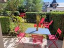Apartment Front De Mer 11 - Jardin - Thalasso, Cabourg ... dedans Table De Jardin Geant Casino