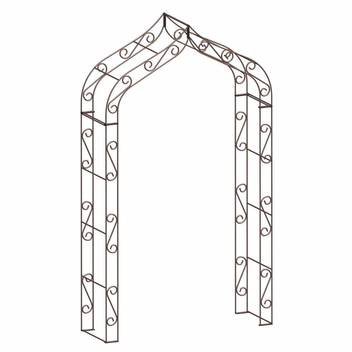 Arche De Jardin En Fer Gothique pour Arche De Jardin En Fer
