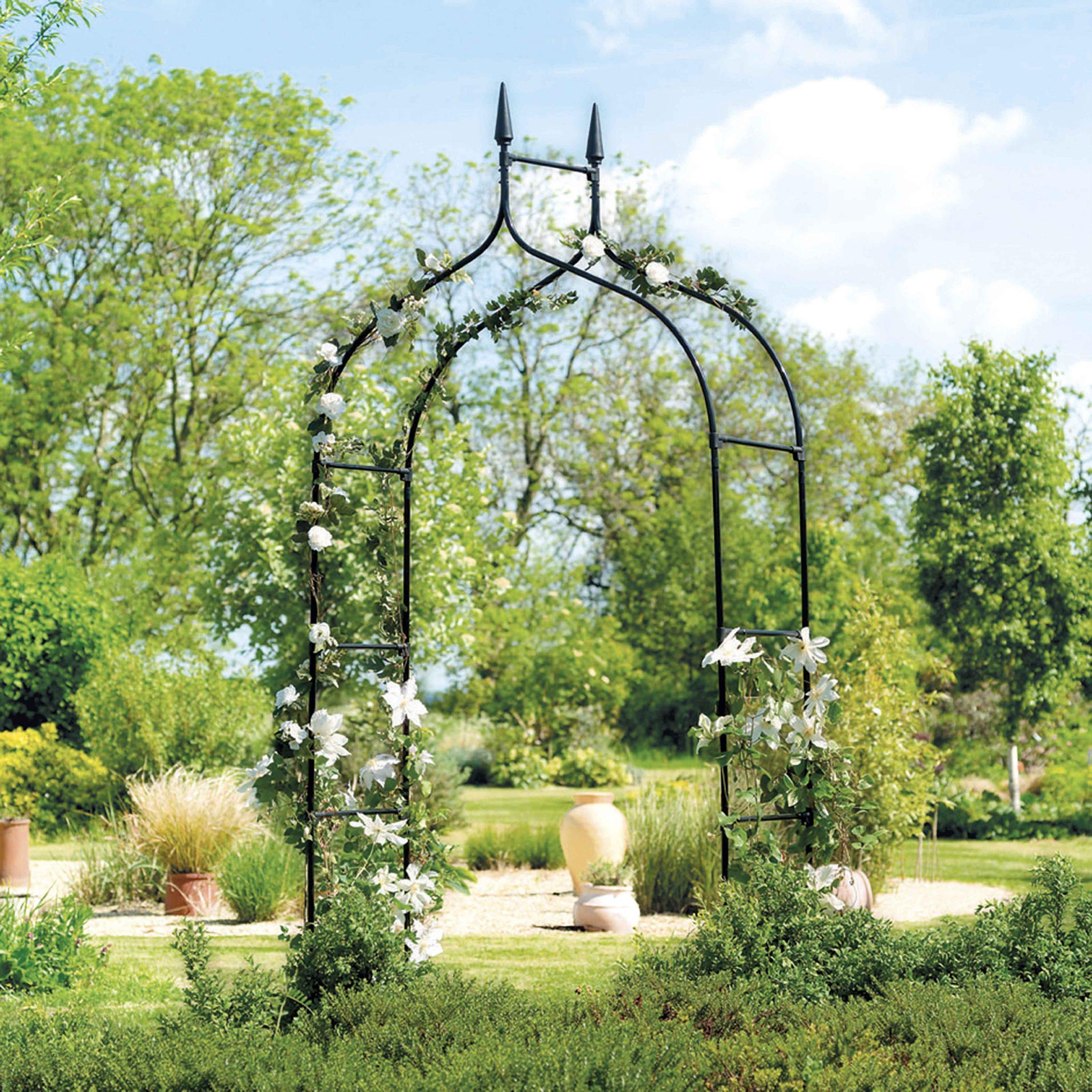 Arche De Jardin Gothique concernant Arche De Jardin En Fer