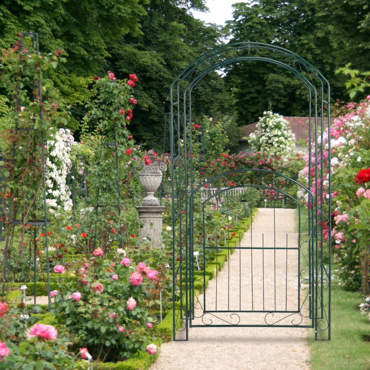 Arche Jardin Avec Portillon dedans Arceau Jardin